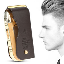 Luxury Gold Men Electric Shaver Razor Beard Hair Clipper Trimmer Grooming  ZY