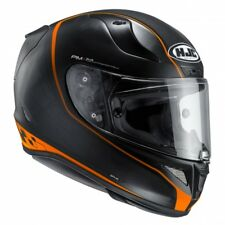 HJC CASCO INTEGRALE PIM PLUS MOTO  RPHA11 RIBERTE/MC7SF NERO/ARANCIONE