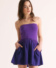 Womens Superdry Dip Dye Dress. Dusky Dye Purple. Brand New