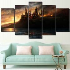 Harry Potter Castle Printed Picture Wall Art Home Decor Canvas