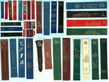 Leather Bookmark Great Yarmouth Holkham Hopton on Sea Thurne Norfolk Broads Gift