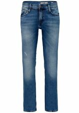 Mustang Oregon Straight Herren Jeans, W28 -to- W40  Heavy Used Wash