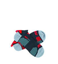 Dainese - Calcetines piki Core Mid Sock negro, turquesa, rojo