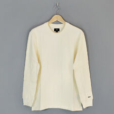 Obey Normal Long Sleeved T-Shirt Cream