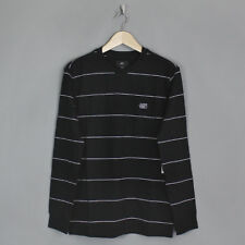 Obey Sutton Long Sleeved T-Shirt Black Multi