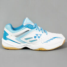 Yonex Womens Power Cushion SHB-34LX Badminton Shoes White / Blue