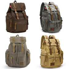 Sac dos Cartable camping alpinisme toile homme femme backpack rucksack 4 couleur