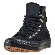 Converse Ctas Watreproof Boot Hi Womens Black Nubuck Casual Ankle Boots Lace-up