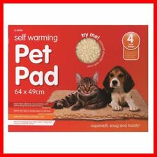 SELF WARMING THERMAL Dog Cat Puppy Pad BED Rug washable Warm Mat 64x49cm