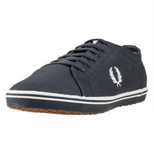 Fred Perry Kingston Hommes Baskets Charcoal Neuf Chaussure