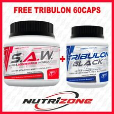 Trec Nutrition S.A.W Pre Workout Alanine AAKG Nitic Oxide SAW 200g + CM3 SHOT