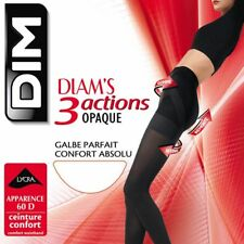 DIM Collant Voile 3 Actions Opaques (Marron) SEXY BAS NEUF