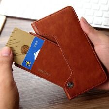 Detachable Wallet Case Card Slot Magnetic Flip Leather Cover For APPLE Samsung