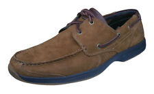 Timberland Earthkeepers Hulls Cove 2-Eye Mens Suede Boat Shoes - Brown