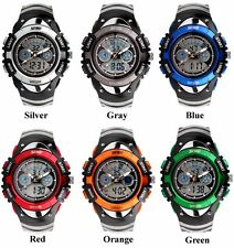 Kids Child Boy Girl Watch Waterproof Outdoor Sports Analogue Digital Wrist Watch