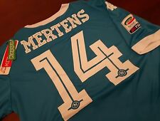 Maglia SSc NAPOLI Kappa Kombat Extra Home Mertens 14 + Patch Serie A Tim maillot