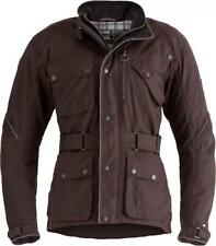 Triumph Barbour Oxblood Waxed Cotton Jacket AW17