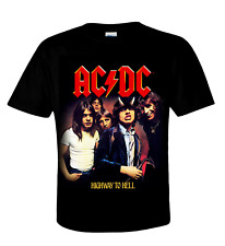 AC/DC official Camiseta HIGHWAY TO HELL (Álbum Cover) AUSTRALIAN ROCK 'n' Roll
