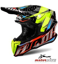CASCO HELMET AIROH OFF ROAD TWIST IRON ORANGE GLOSS