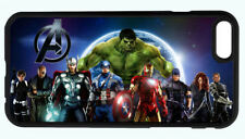 MARVEL AVENGERS SUPERHEROES PHONE CASE FOR IPHONE X 8 7 6S 6 PLUS 6 5C 5S 5 4S
