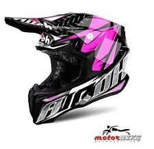 CASCO HELMET AIROH OFF ROAD TWIST IRON PINK GLOSS