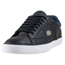 Lacoste Fairlead 317 Mens Black Leather Casual Trainers Lace-up Genuine Shoes