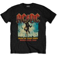 OFFICIAL LICENSED - AC/DC - BLOW UP YOUR VIDEO T SHIRT ROCK WORLD TOUR 1988