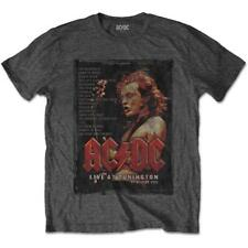 OFFICIAL LICENSED - AC/DC - DONINGTON SET 1991 T SHIRT ROCK ANGUS
