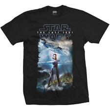 OFFICIAL LICENSED - STAR WARS - EPISODE 8 FALCON COMPOSITE T SHIRT JEDI SITH