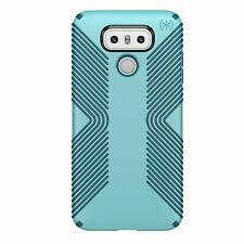 Speck Presidio GRIP for LG G6 -  Robin Egg Blue-Tide Blue / Black