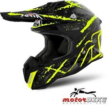 CASCO HELMET AIROH OFF ROAD TERMINATOR OPEN VISION CARNAGE YELLOW GLOSS
