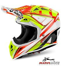 CASCO HELMET AIROH OFF ROAD AVIATOR 2.2 DOUBLE ORANGE GLOSS