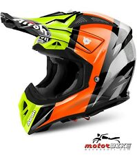 CASCO HELMET AIROH OFF ROAD AVIATOR 2.2 REVOLVE ORANGE GLOSS