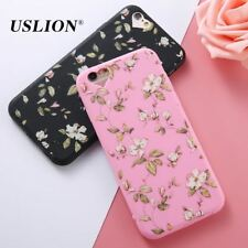 Case For iPhone 6 6s Plus Phone Case Flower Soft TPU Case