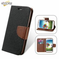 Magnetic Flip Leather Card Slot Case For Samsung Galaxy S8 S7 S6 S5 S4 Edge