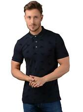 Armani Jeans Polo - Mens 6Y6F31 Polo Shirt in Navy