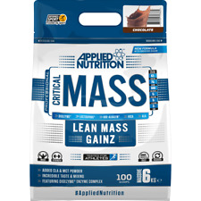 Applied Nutrition Critical Mass 2.28kg 6kg High Potency Weight Gainer