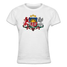 Tee shirt Femme Lettonie Coat of Arms