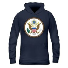 Sweatshirt à capuche Femme United States of America Coat of Arms