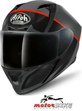 CASCO HELMET AIROH FULL FACE VALOR ECLIPSE ORANGE GLOSS