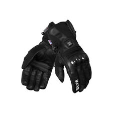 KEIS Heated Outer Motorbike/Outdoor Gloves Dual Power X800i 12v or Battery Pack