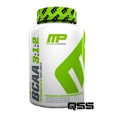 MUSCLEPHARM NUTRITION BCAA 3:1:2 240 CAPS BRANCH CHAIN AMINOS ACID BCAA'S