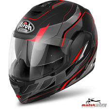 CASCO HELMET AIROH FLIP UP REV REVOLUTION BLACK MATT