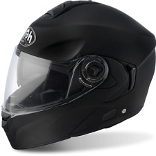 CASCO HELMET AIROH FLIP UP RIDES COLOR BLACK MATT