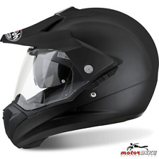 CASCO HELMET AIROH OFF ROAD S5 COLOR BLACK MATT