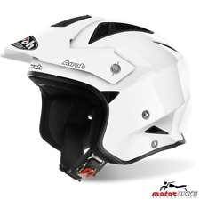 CASCO HELMET AIROH URBAN JET TRR S COLOR WHITE GLOSS