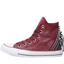 Converse Womens CT All Star Hi Triple Zip Trainers Oxheart/White High Top Boots