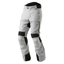 REV'IT! NEPTUNE GTX GORE Moto Pantalones Negro Plata Rev It revit