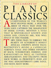 The Library of Piano Favorites Series, Easy, Favorites, Piano Sheet Music,