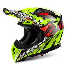 CASCO MOTO CROSS AIROH AVIATOR 2018 GRIM YELLOW GLOSS AV22GR31